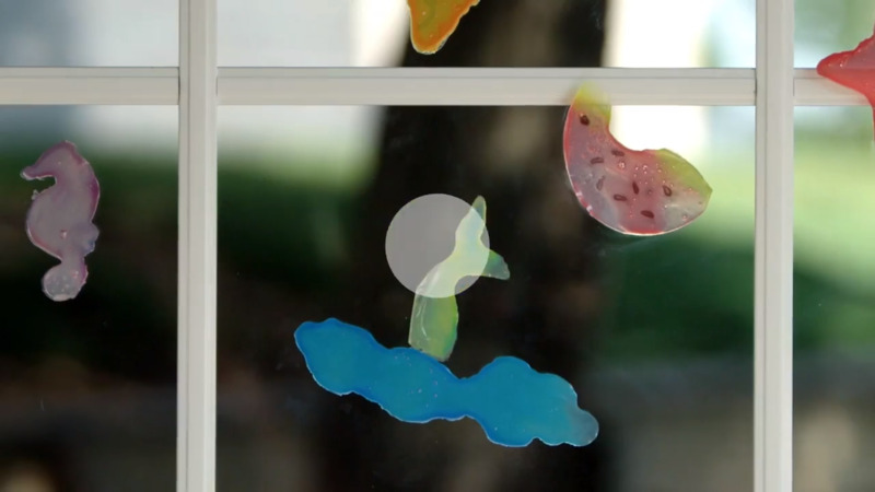 How to Make Homemade Window Clings