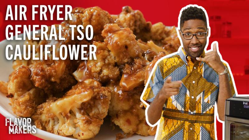 How To Make General Tso's Cauliflower Air Fryer Recipe
