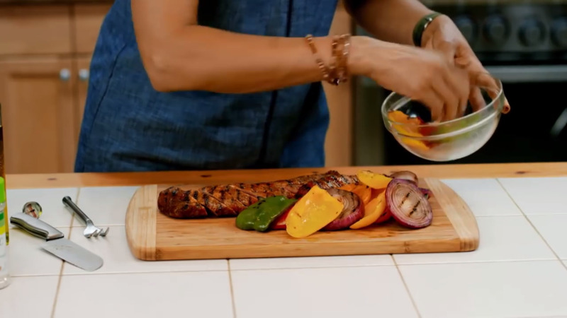 Carla Hall & Lawry's: A Summer Pork Loin with Zing