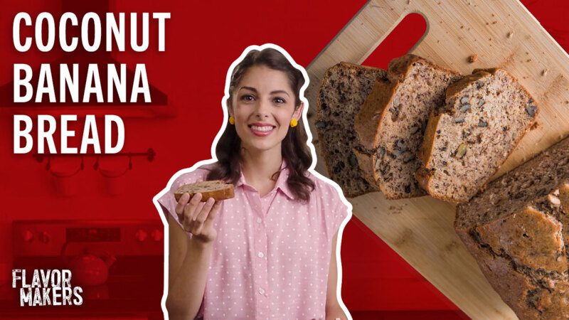How to Make Coconut Banana Bread