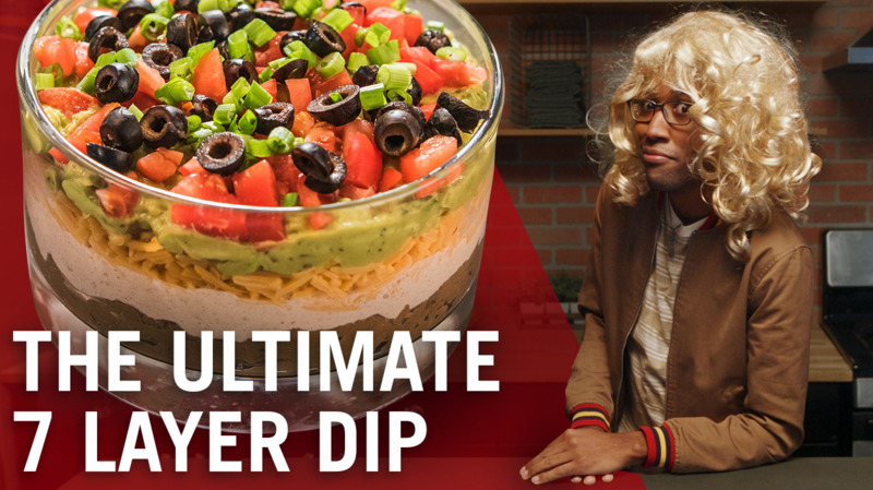 The Ultimate 7 Layer Dip