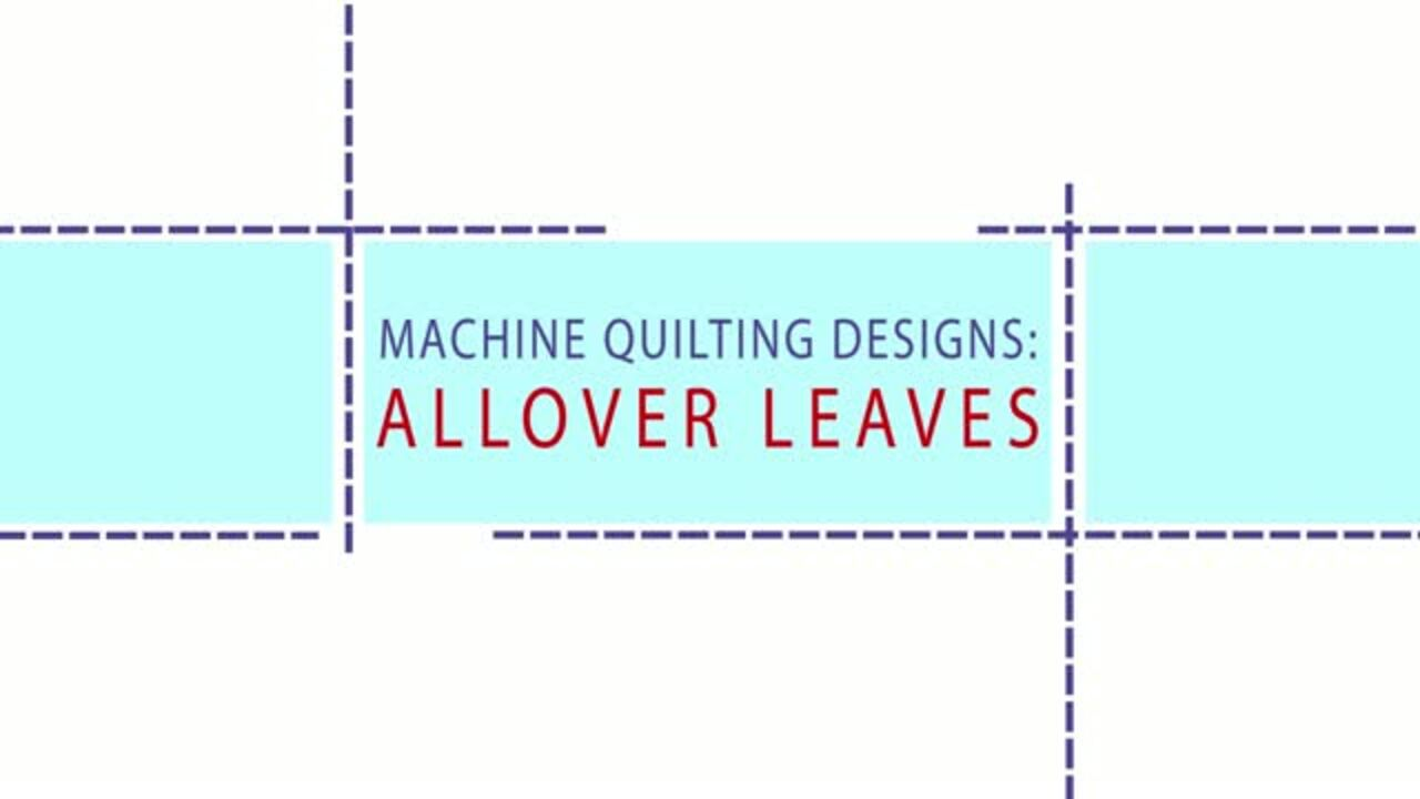 See How: Allover Leaves