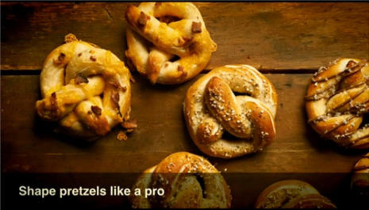 Video: Shape Pretzels Like a Pro