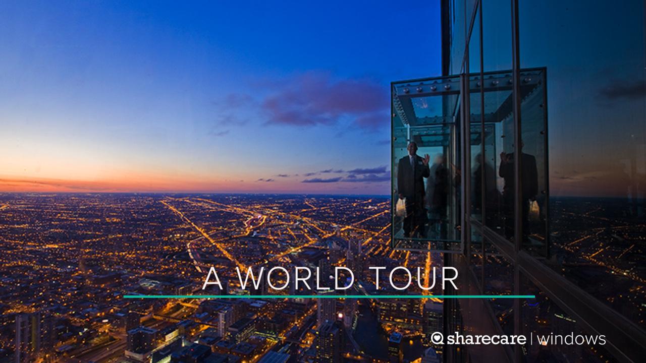 A One-Hour World Tour