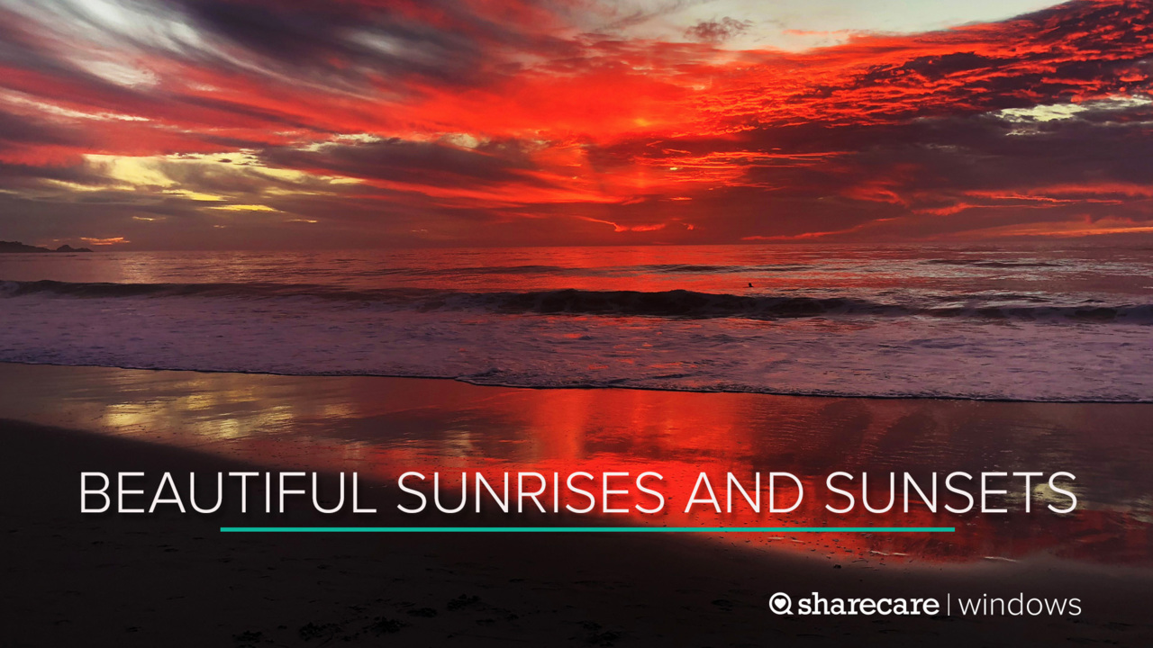 One Hour of Beautiful Sunrises and Sunsets