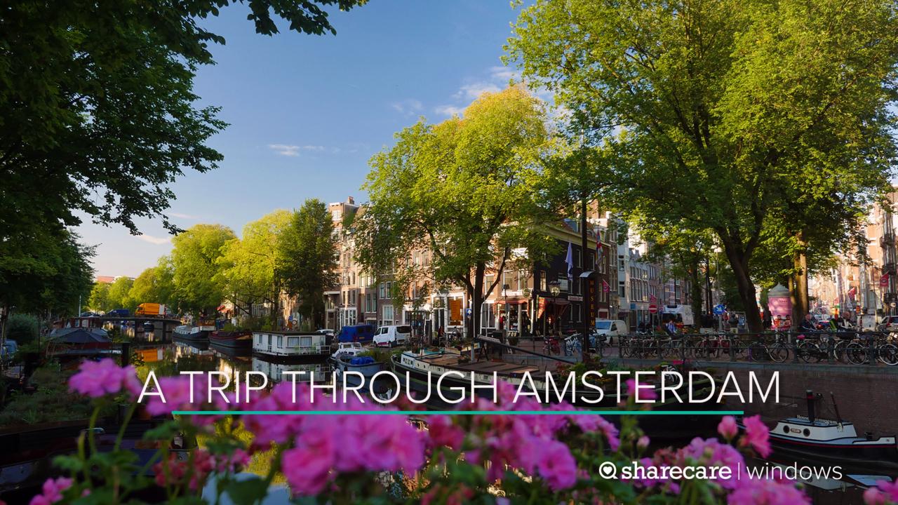 A 30-Minute Trip Through Amsterdam