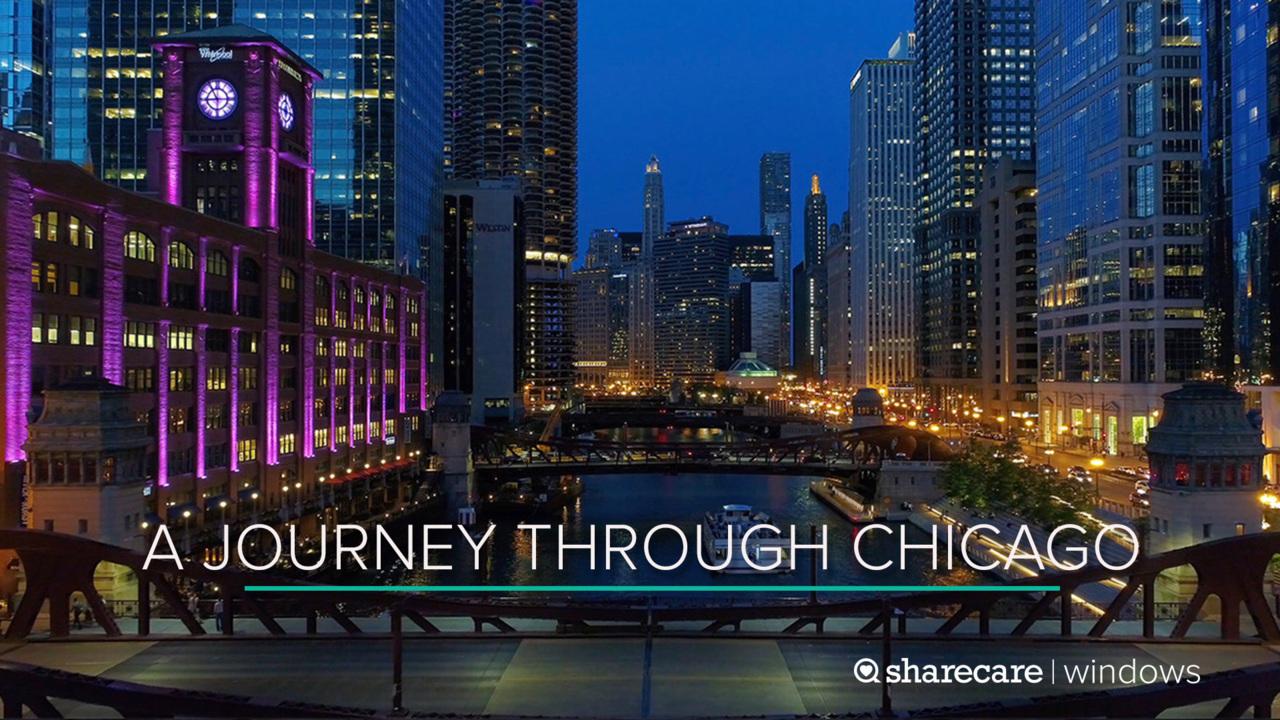 One-Hour Journey Through Chicago