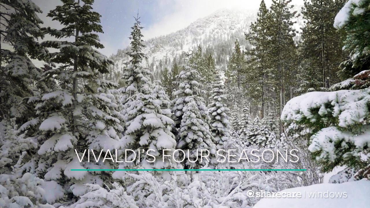 Vivaldi's Four Seasons With Breathtaking Views