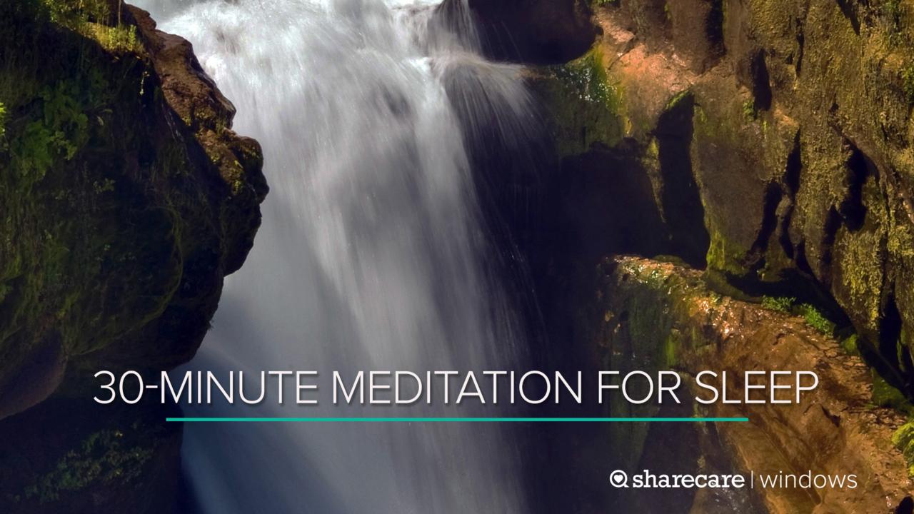 30-Minute Meditation for Sleep