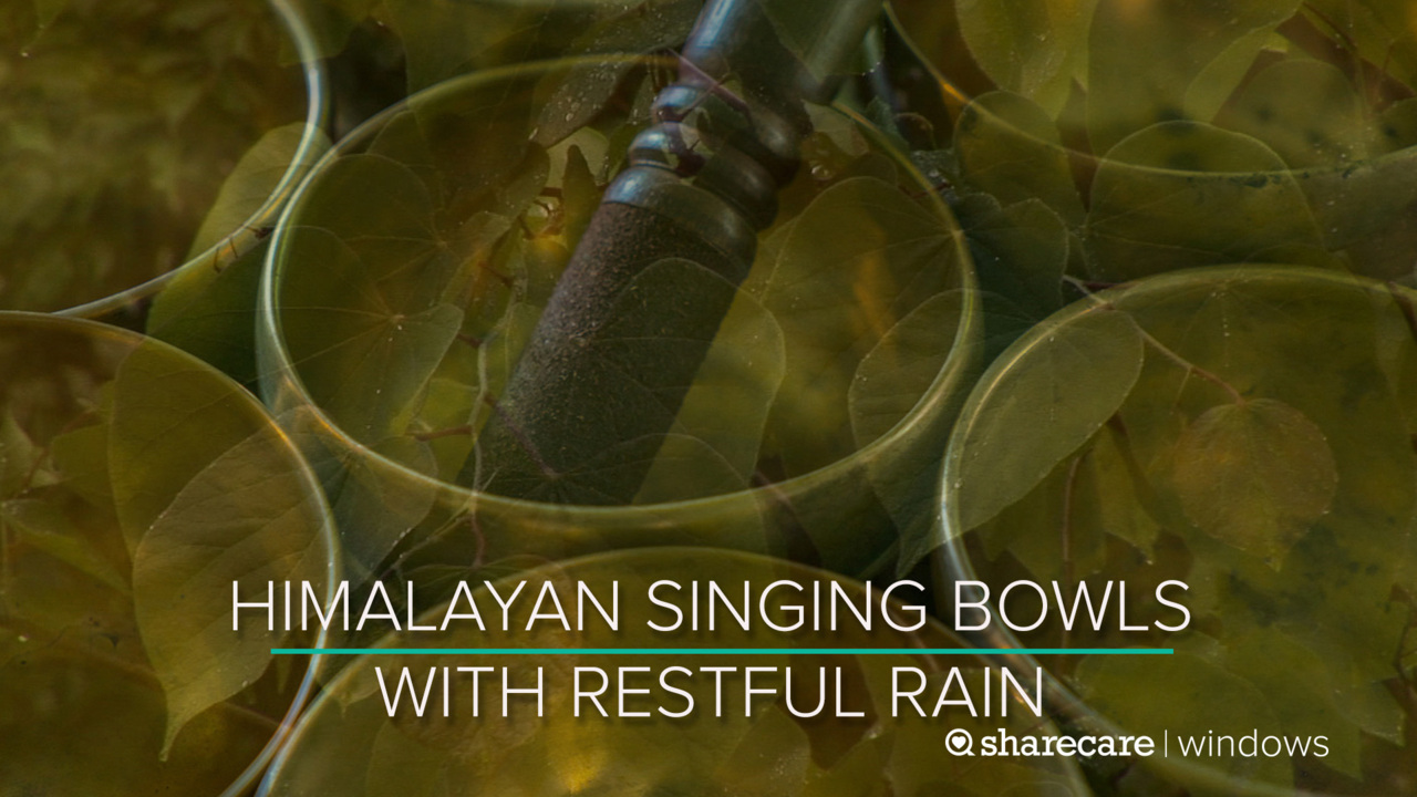 One Hour of Himalayan Singing Bowls