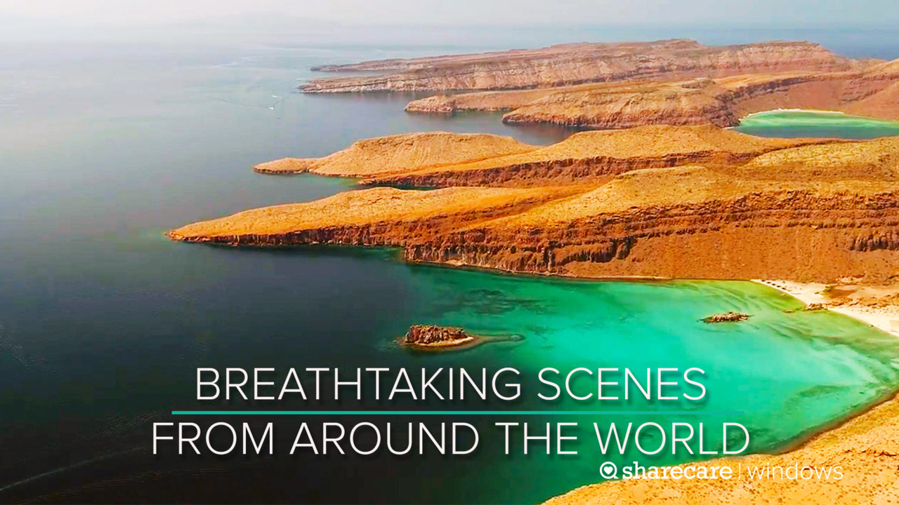 30 Minutes of Breathtaking Scenes from Around the World