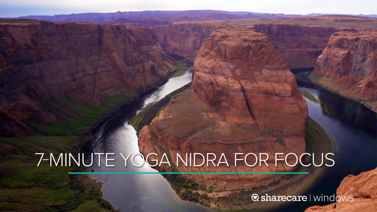 7-Minute Yoga Nidra for Focus