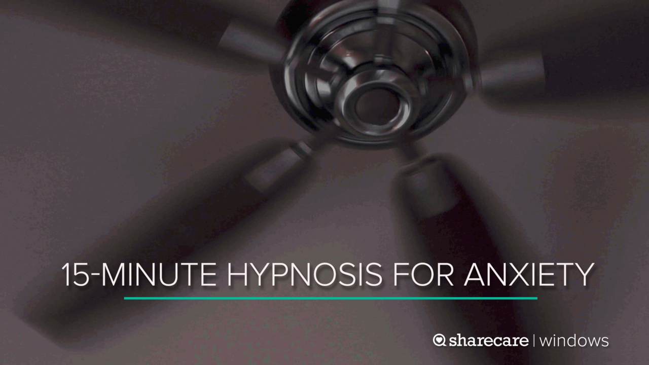 15-Minute Hypnosis for Anxiety