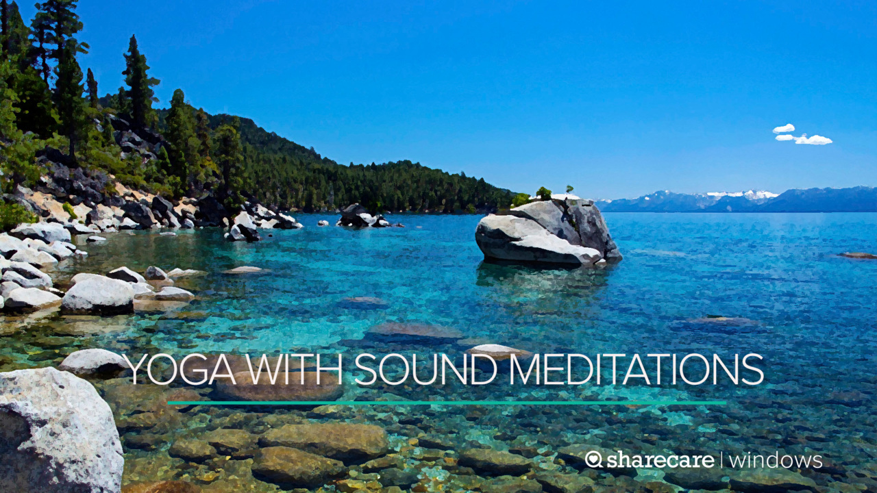 8 Minutes of Yoga With Sound Meditations
