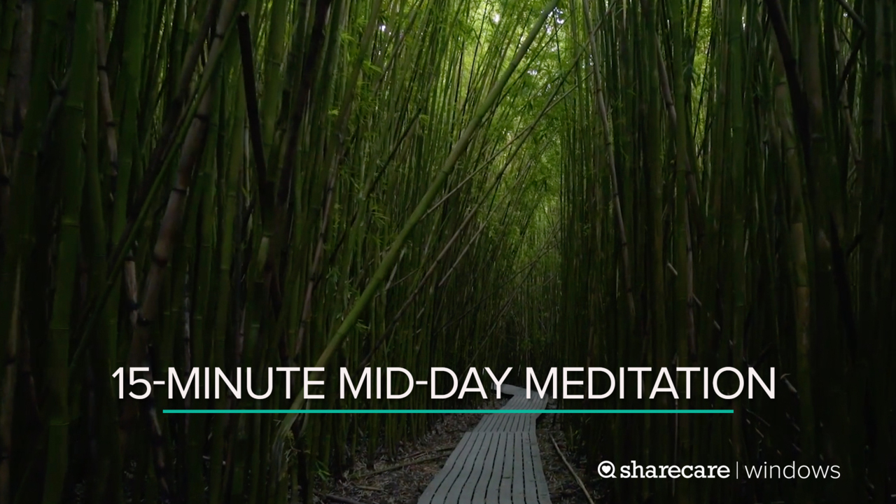 15-Minute Mid-Day Meditation