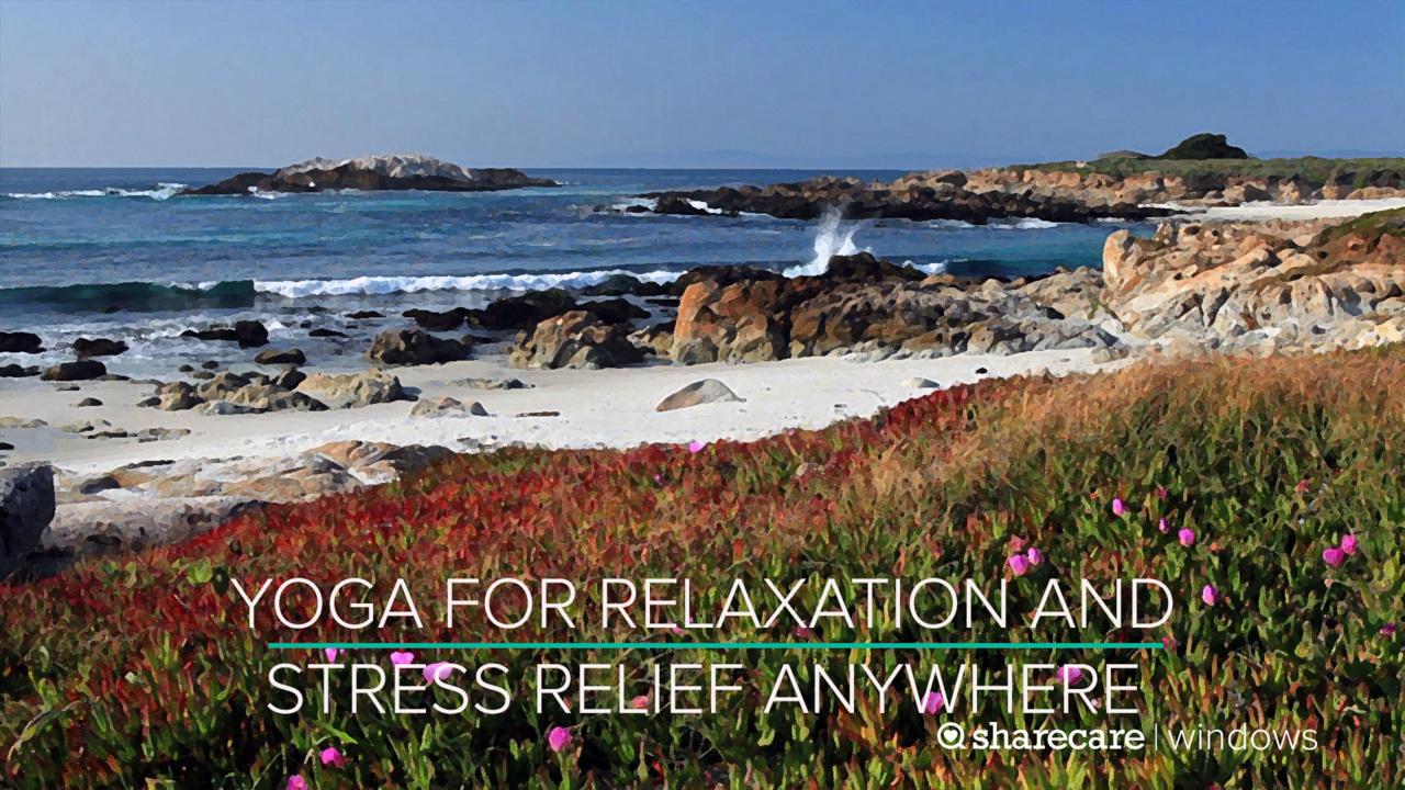 18 Minutes of Yoga for Relaxation and Stress Relief Anywhere