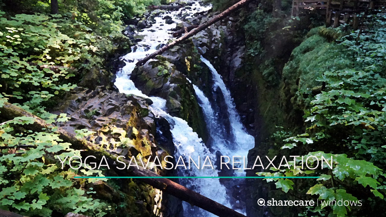 18-Minute Yoga: Savasana Relaxation