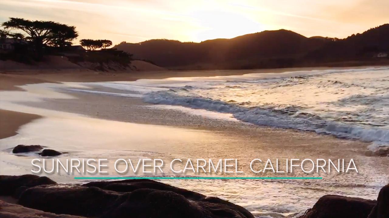 30 Minutes of Sunrise over Carmel, California