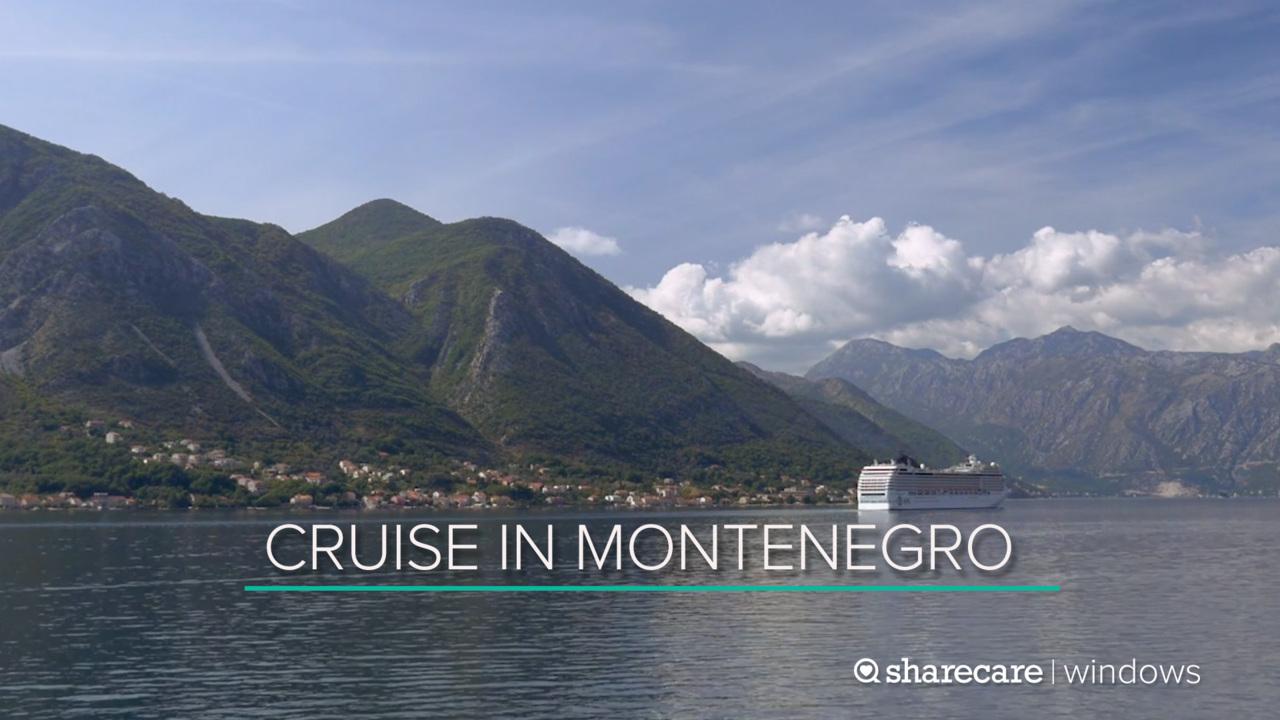 30-Minute Cruise in Montenegro