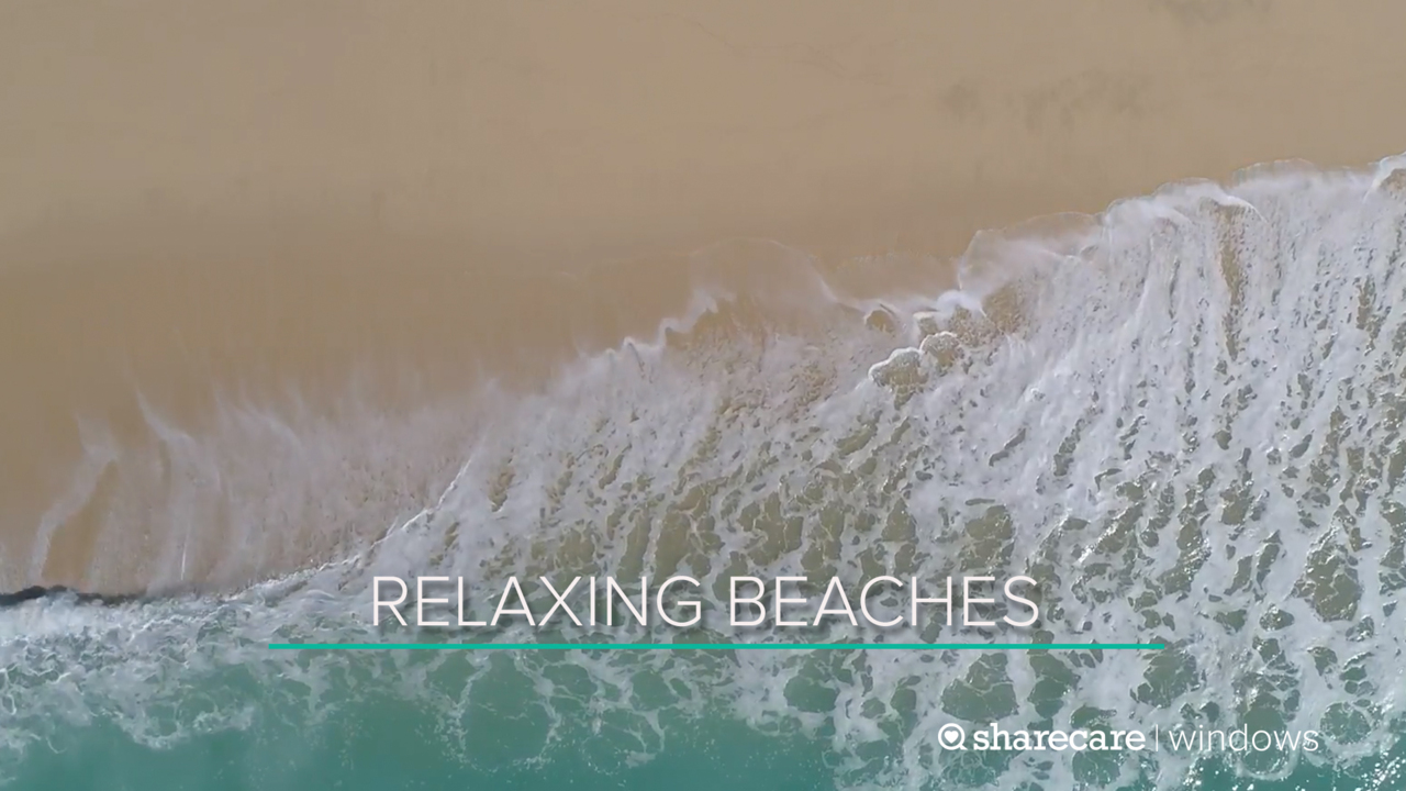 One Hour of Relaxing Beaches