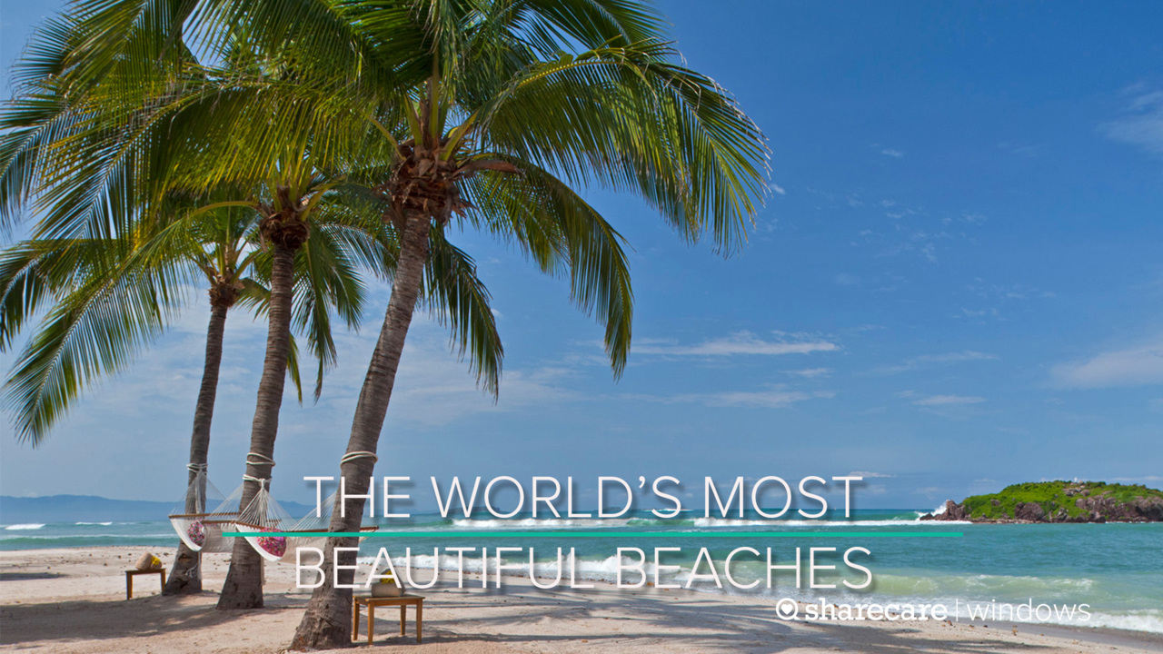 One Hour of The World's Most Beautiful Beaches