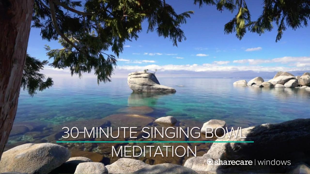 30-Minute Singing Bowl Meditation