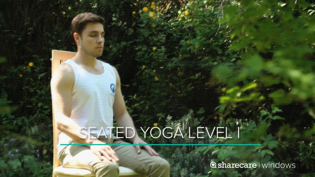 13-Minute Seated Yoga Level I