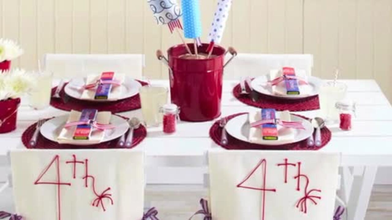 Video: One-minute July 4th decorating inspiration