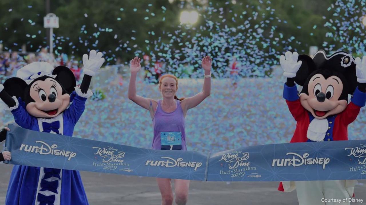 Disney Mickey Marathon 2019 I Did It 26.2 Miles RunDisney Performance Tee Shirt Womens