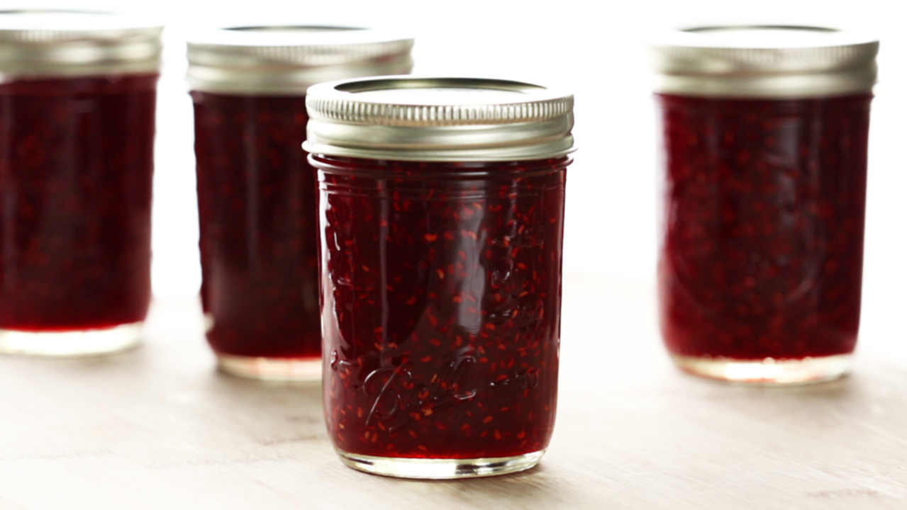 Sarah's Raspberry Jam