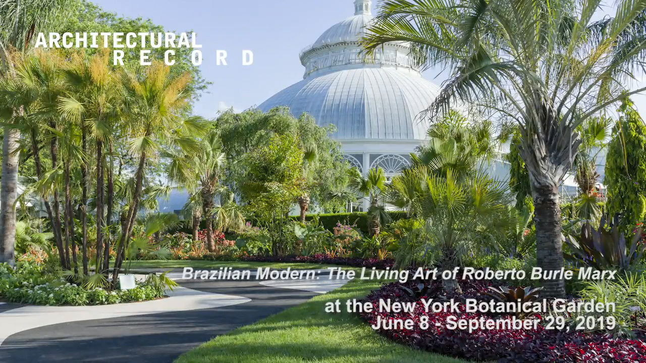 Raymond Jungles Designs Roberto Burle Marx Exhibition At New York