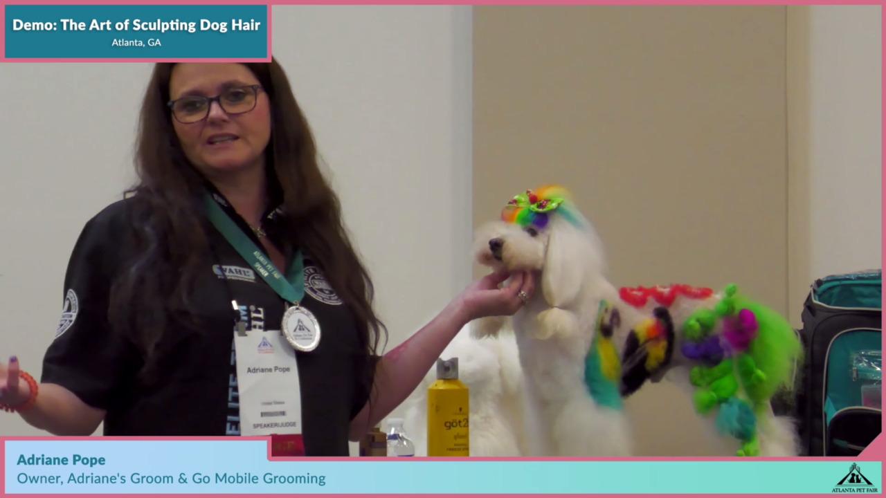 Thumbnail for Atlanta Pet Fair Demo: The Art of Sculpting Dog Hair