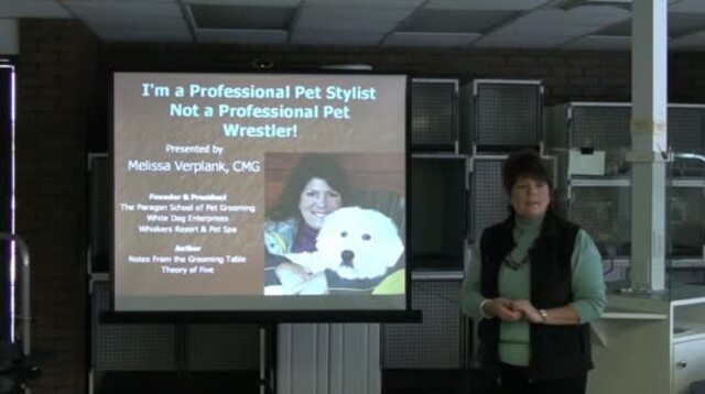 Thumbnail for I'm a Professional Pet Stylist, Not a Professional Pet Wrestler!