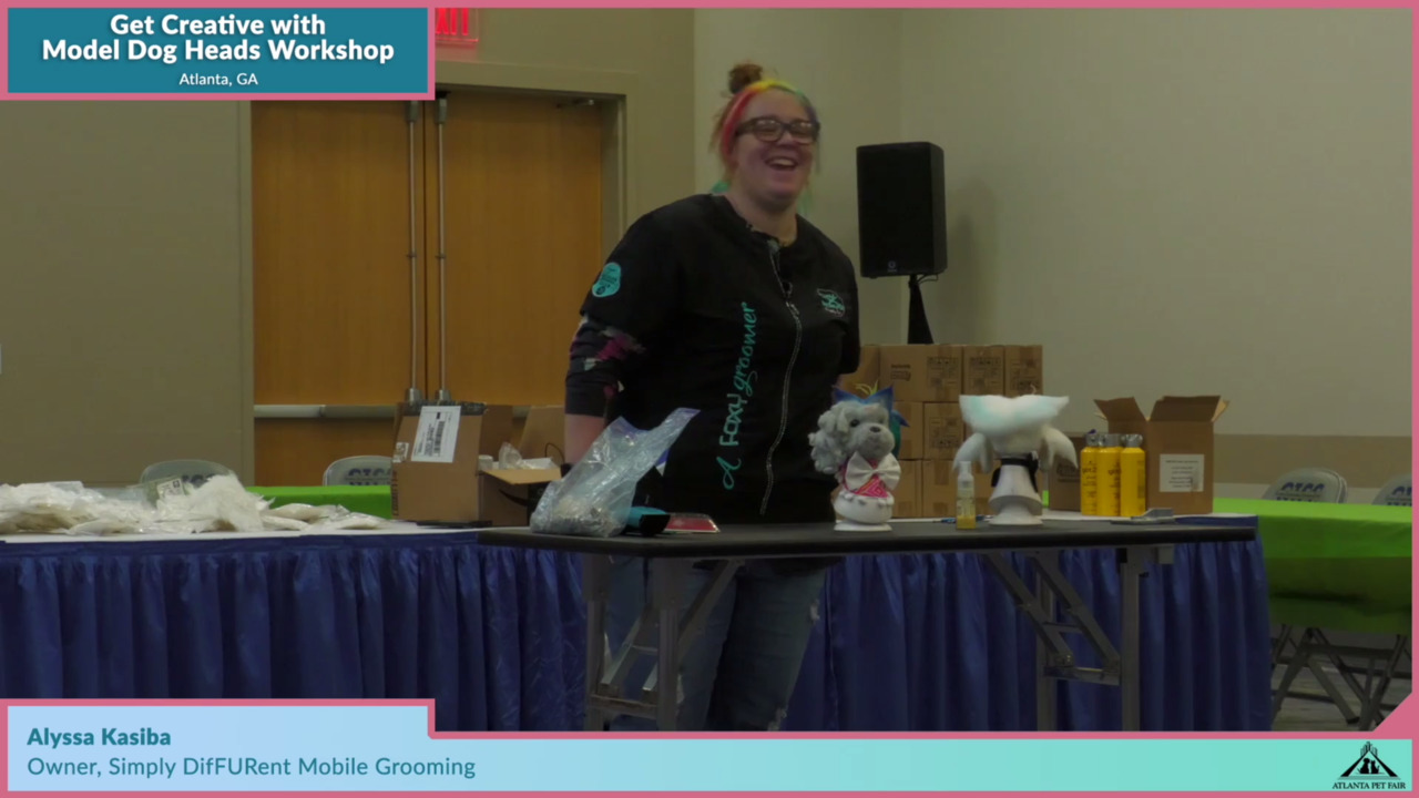 Thumbnail for Atlanta Pet Fair Special Session: Get Creative with Model Dog Heads Workshop