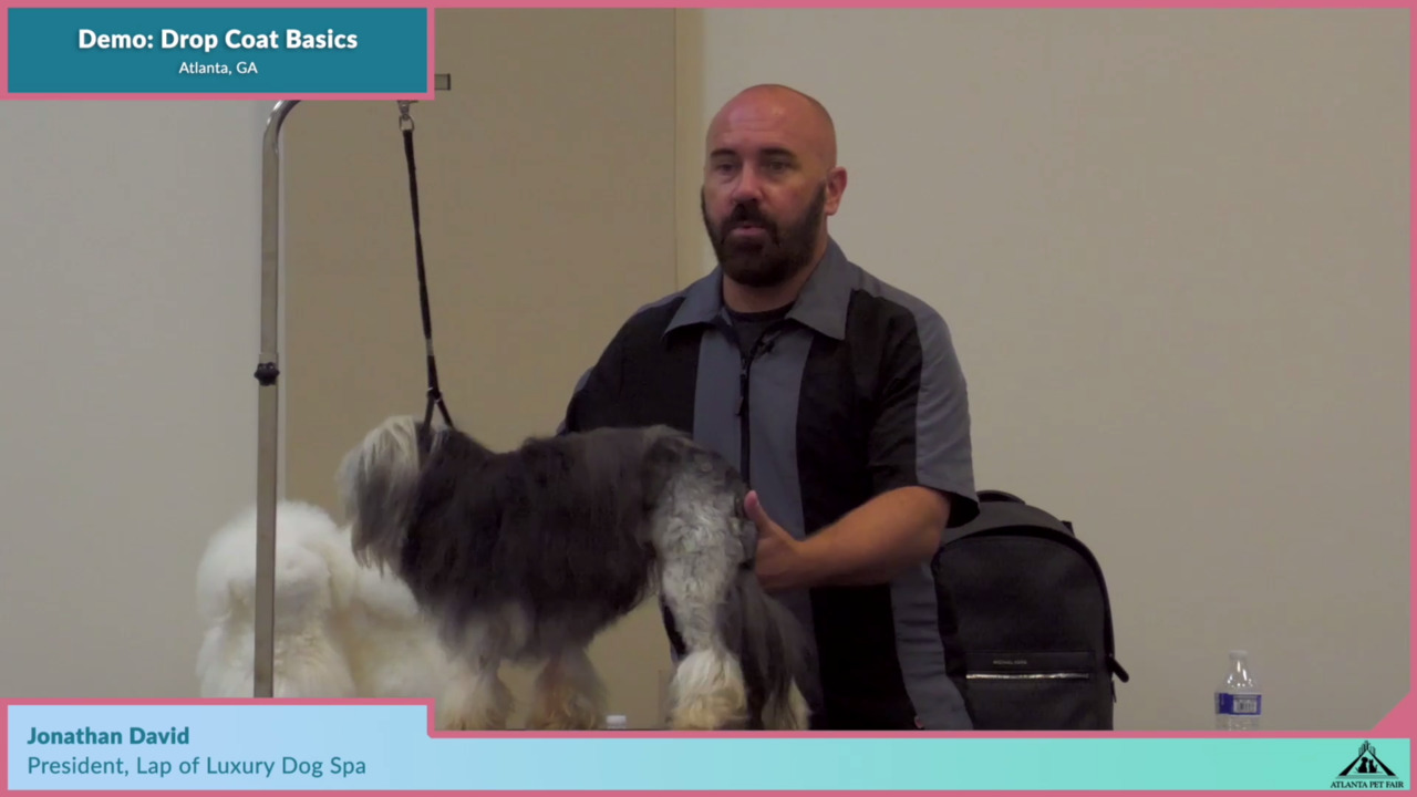 Thumbnail for Atlanta Pet Fair Demo: Drop Coat Basics