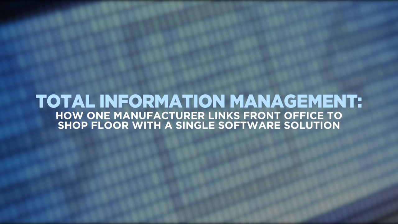 Total Information Management with Synergis Adept