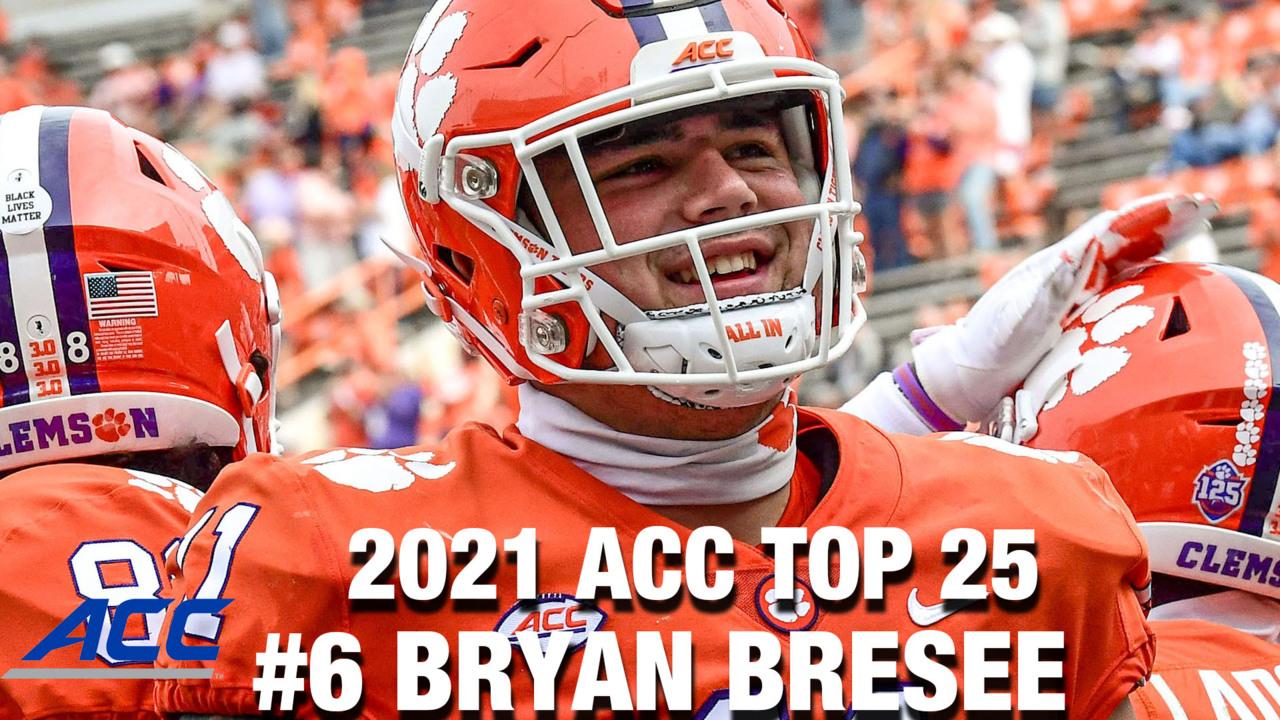 6 <b>Clemson</b> DL Bryan Bresee | 2021 ACC Football <b>Top</b> 25 Returning ...