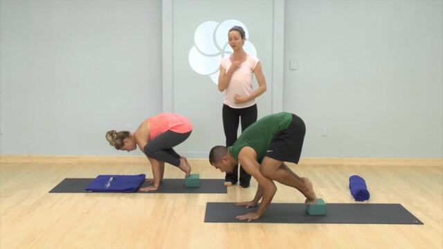 Get Set for Flight in Crow Pose