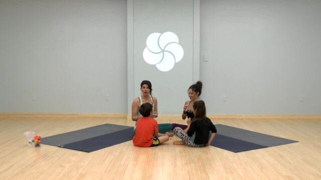 Family Yoga Pom Pom Pass