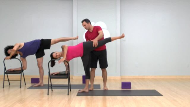Standing Poses and Opening the Hips