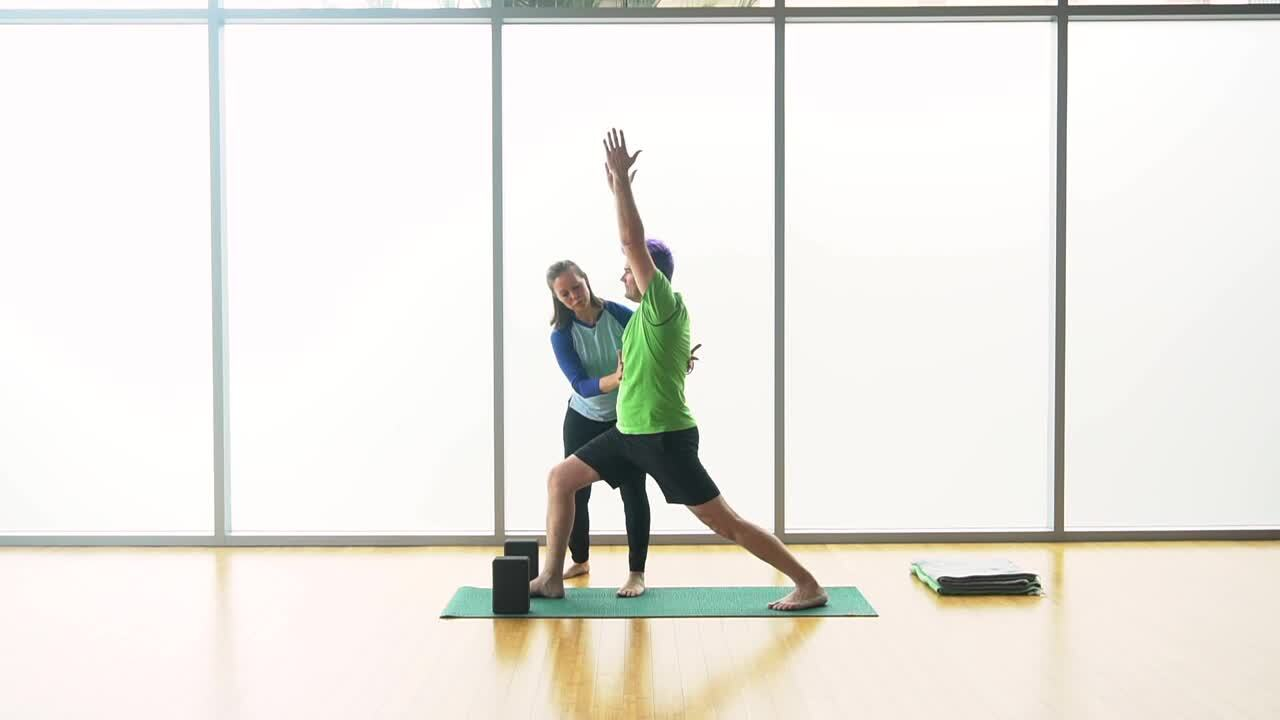 Hands-on Adjustments - Standing Neutrally Rotated Poses