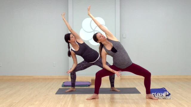 Five Poses to Feel Good While Pregnant