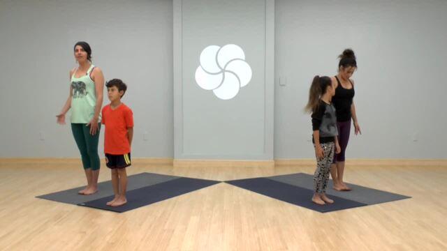 Family Yoga: Sun Dance