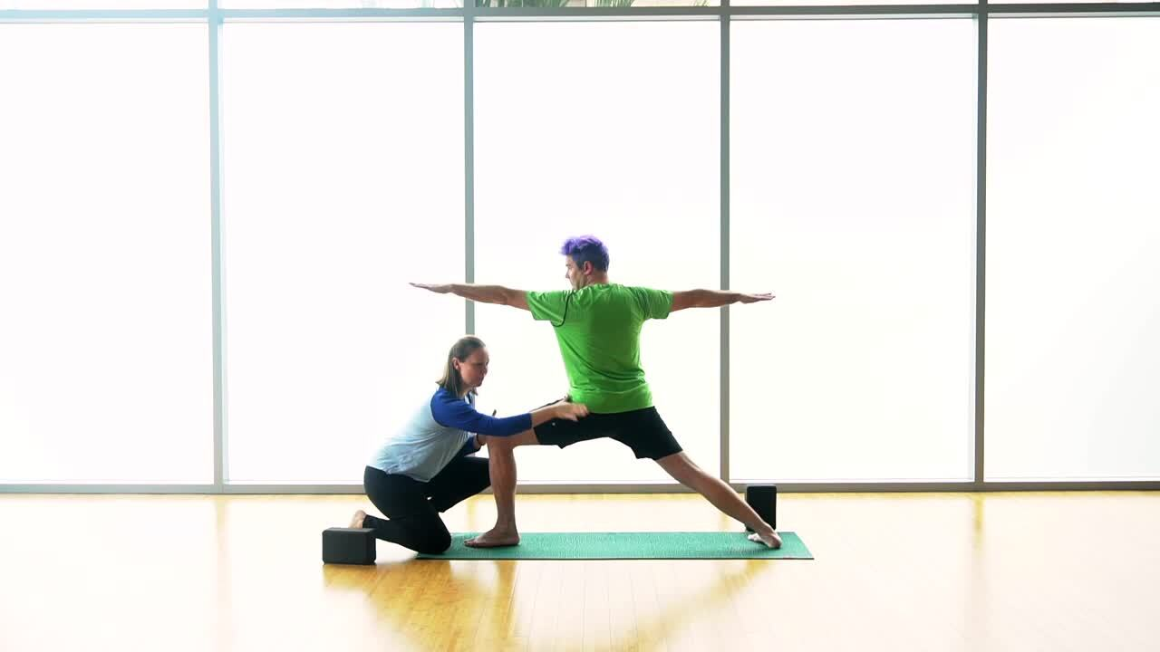 Hands-on Adjustments - Externally Rotated Standing Poses