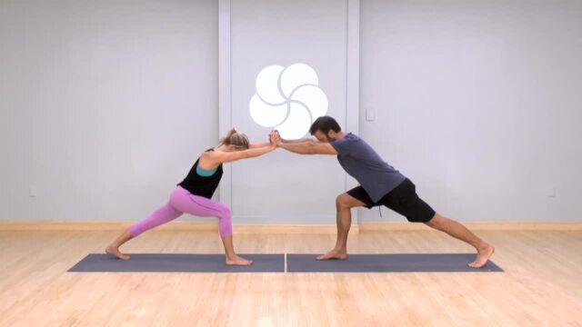 Strength Building Partner Yoga