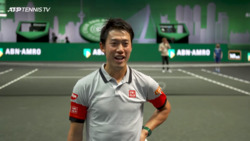 Nishikori On Felix Win: 'I Don't Feel Like I'm Old!'