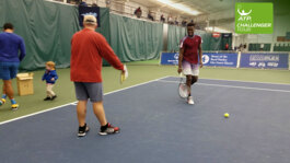 Behind The Scenes With Tiafoe At Charlottesville Challenger 2016