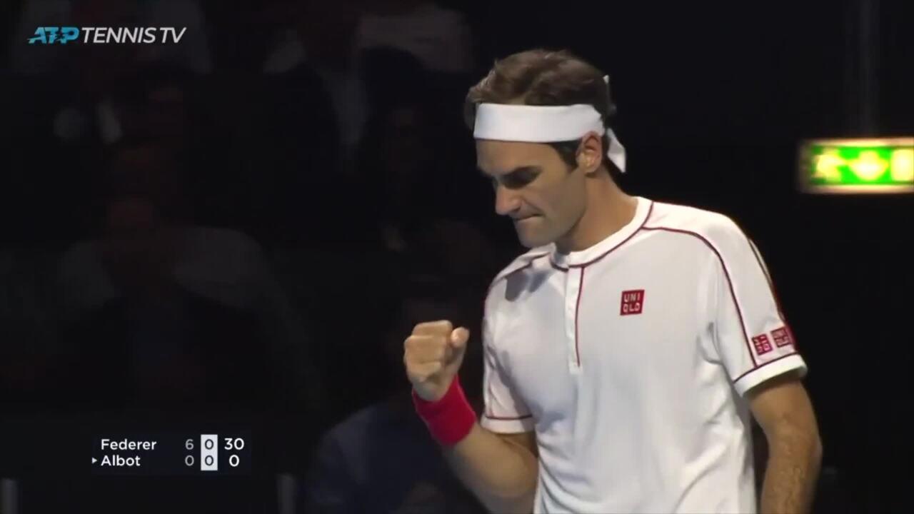 Federer, De Minaur: The Best Hot Shots From Basel 2019