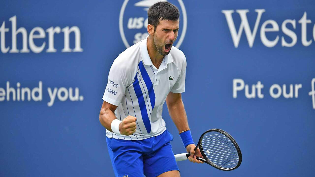 Hot Shot: Tenaz Defensa De Djokovic Ante Raonic