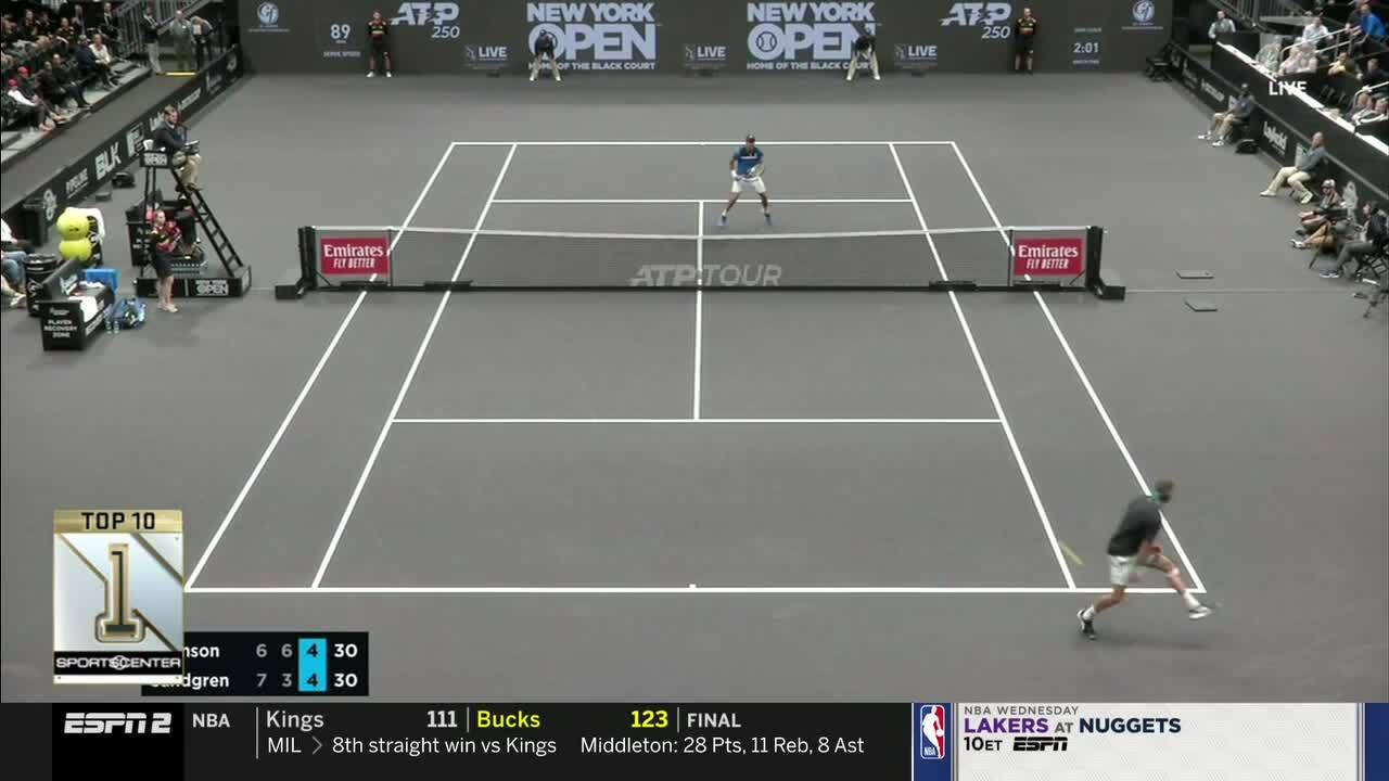Sandgren's Sensational Tweener Earns SportsCenter's No. 1 Play!